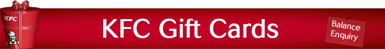 KFC Gift Card Balance Enquiry